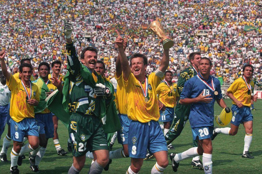 Dunga champion du monde en 1994
