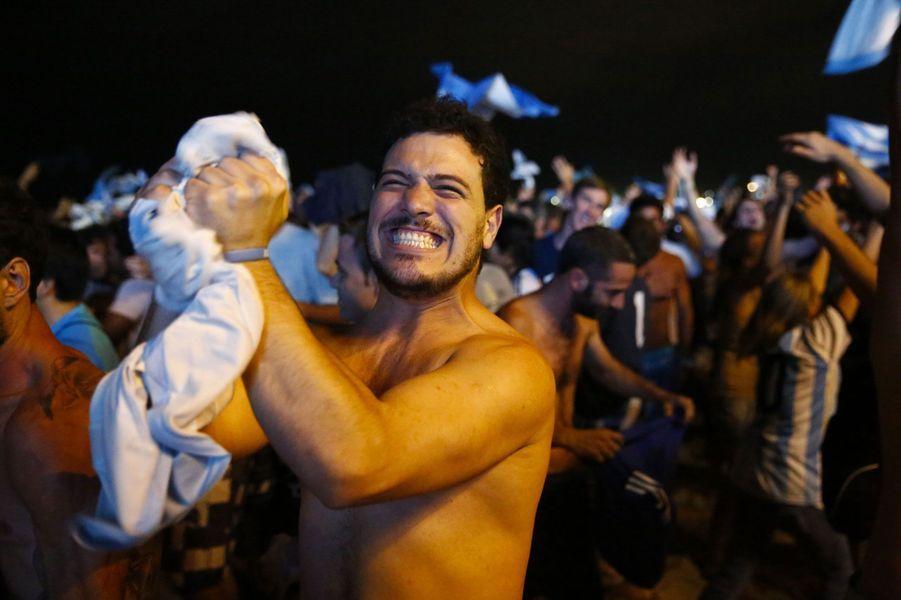 L'Argentine en finale, le peuple en fête