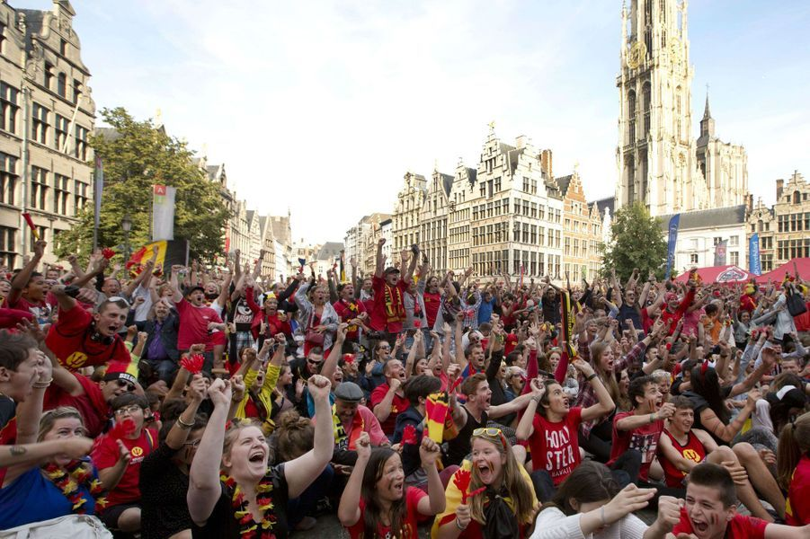 L'euphorie belge et algérienne