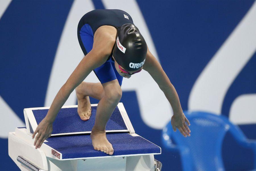 La (très) petite sirène des mondiaux de natation