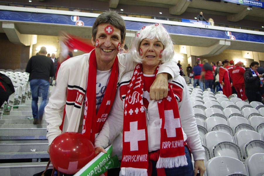 Le bonheur des supporters suisses