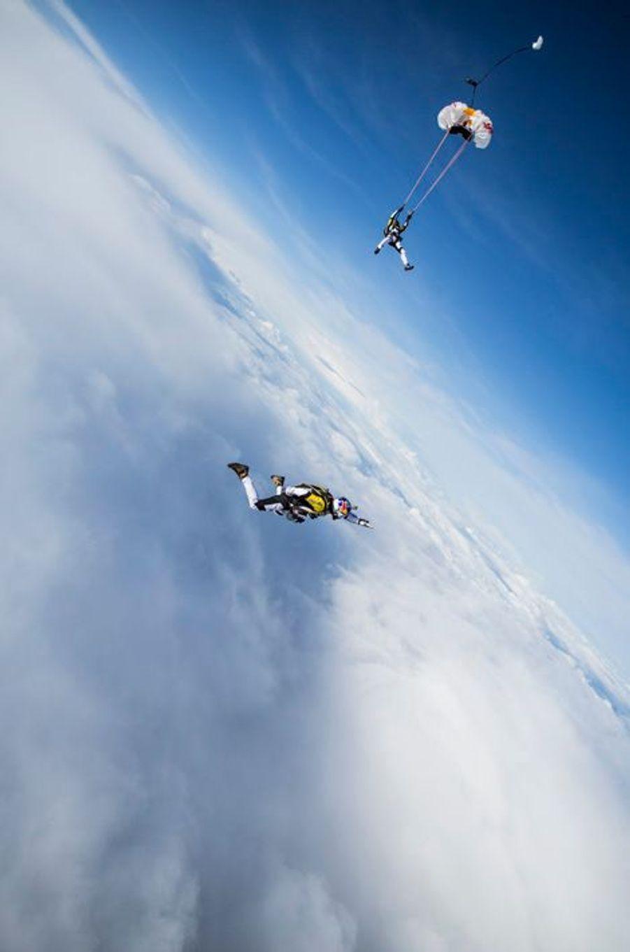 Le Mont Blanc la tête en l'air