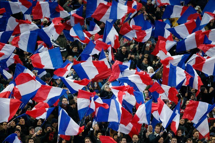 Plus de 70 000 personnes avaient bravé le froid au Stade de France.