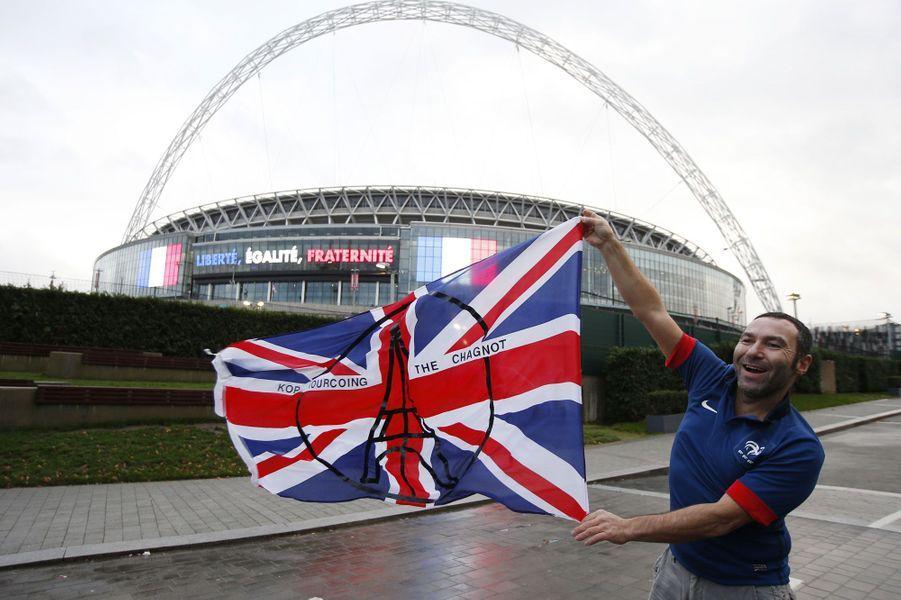Wembley est bleu-blanc-rouge mardi