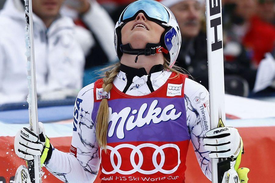 Lindsey Vonn victorieuse à Zauchensee