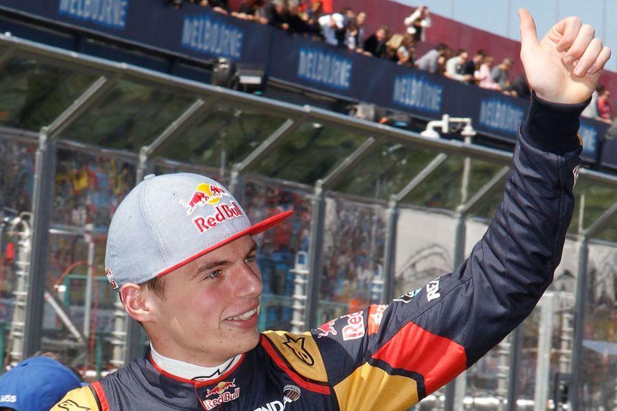Avant la course du Grand Prix d'Australie, le 15 mars 2015