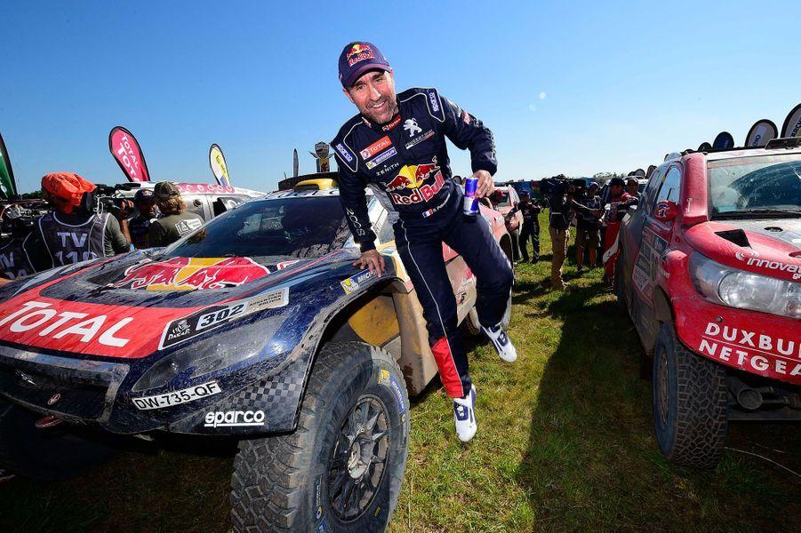Stéphane Peterhansel est le vainqueur du Dakar-2016