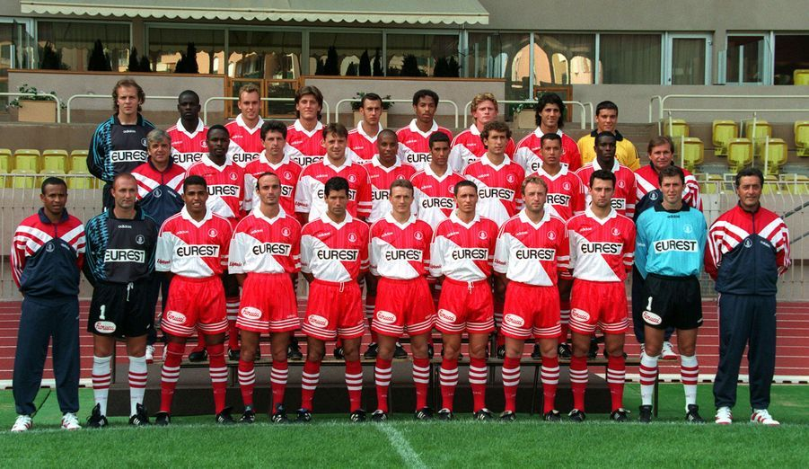 Première saison en D1, avec Monaco, en 1995