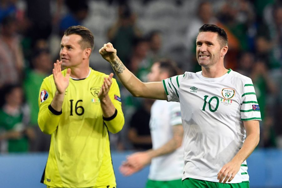 Shay Given et Robbie Keane