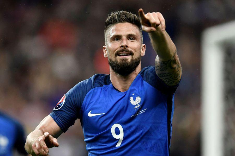 Olivier Giroud pour le 1-0