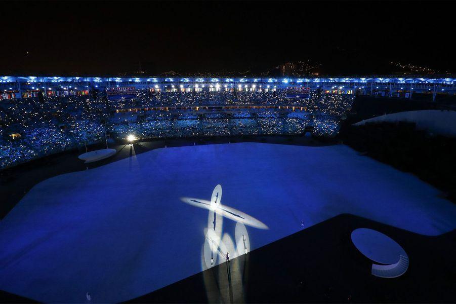 Les plus belles photos de la cérémonie d'ouverture des JO 2016
