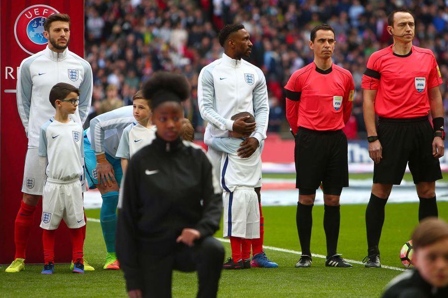 Bradley et Jermain Defoe à Wembley