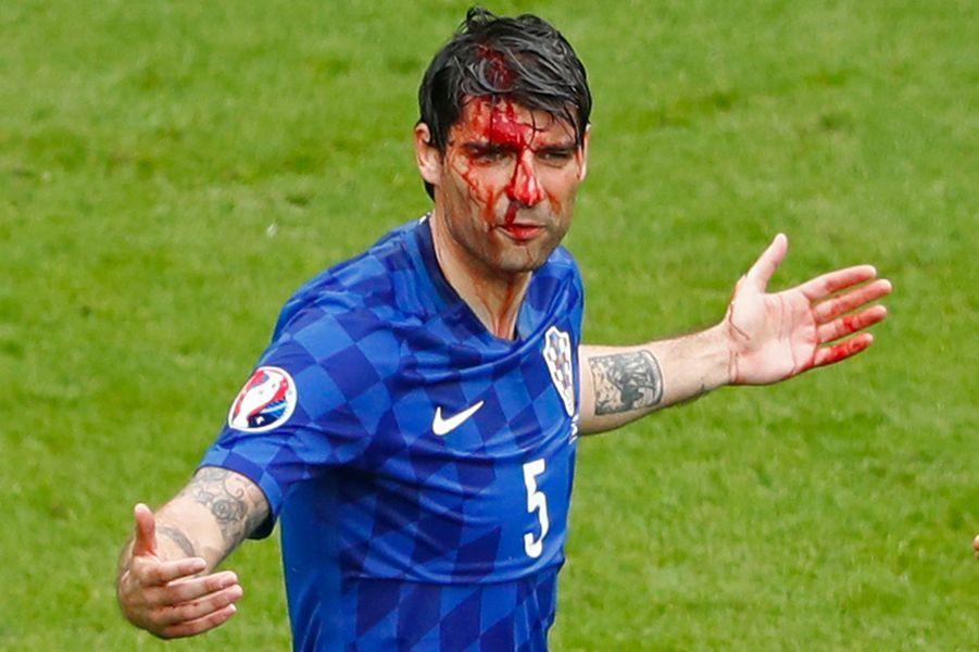 Corluka en sang lors de Croatie-Turquie