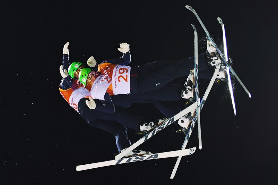 Lloyd Wallaceau ski acrobatique
