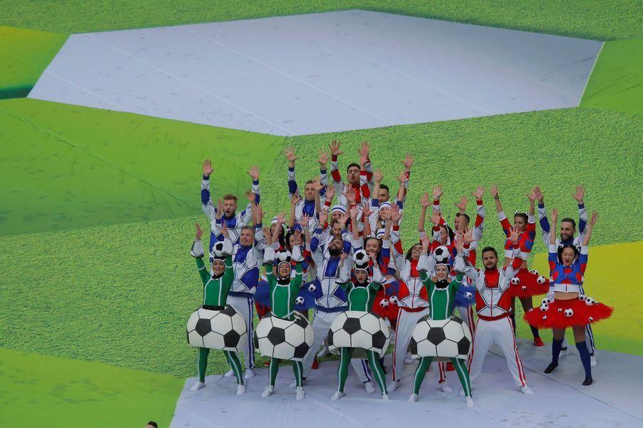 La cérémonie d'ouverture en images.