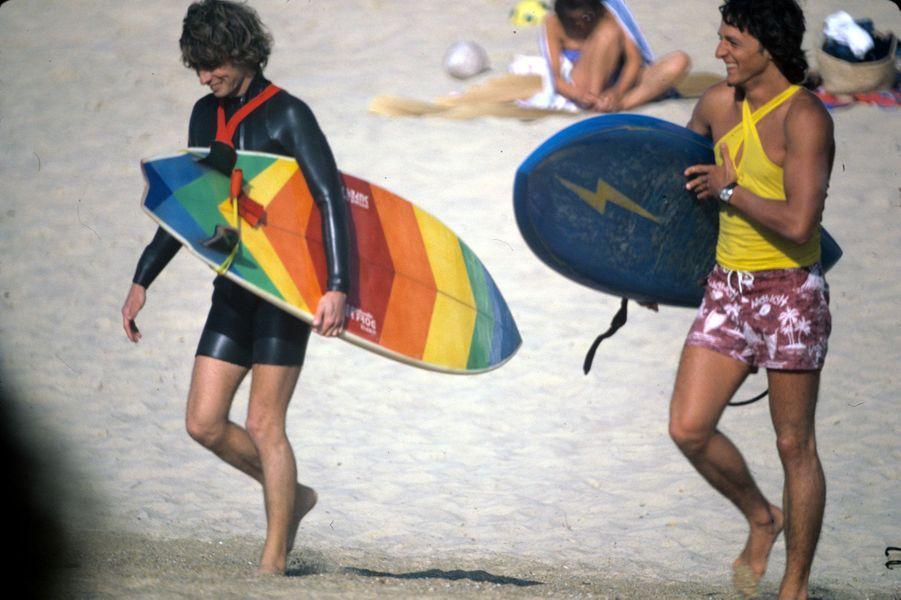Gérard Dabbadie et Georges Remoissenet, dans les années 1980