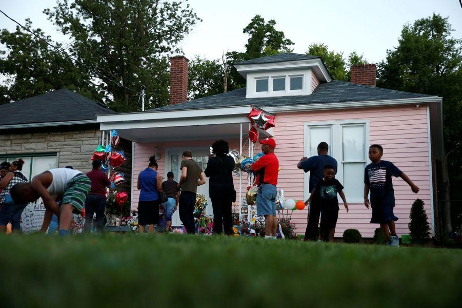 La maison d'enfance de Mohamed Ali à Louisville, dans le Kentucky.
