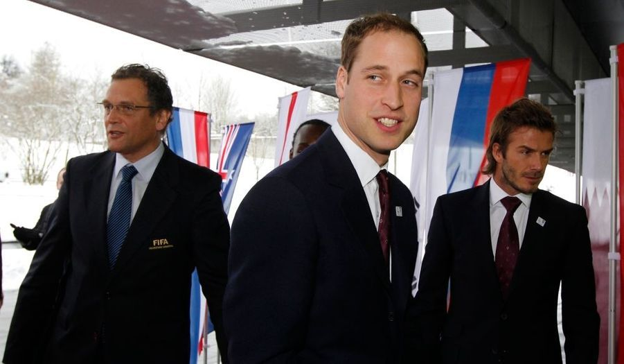 Déception pour le prince William