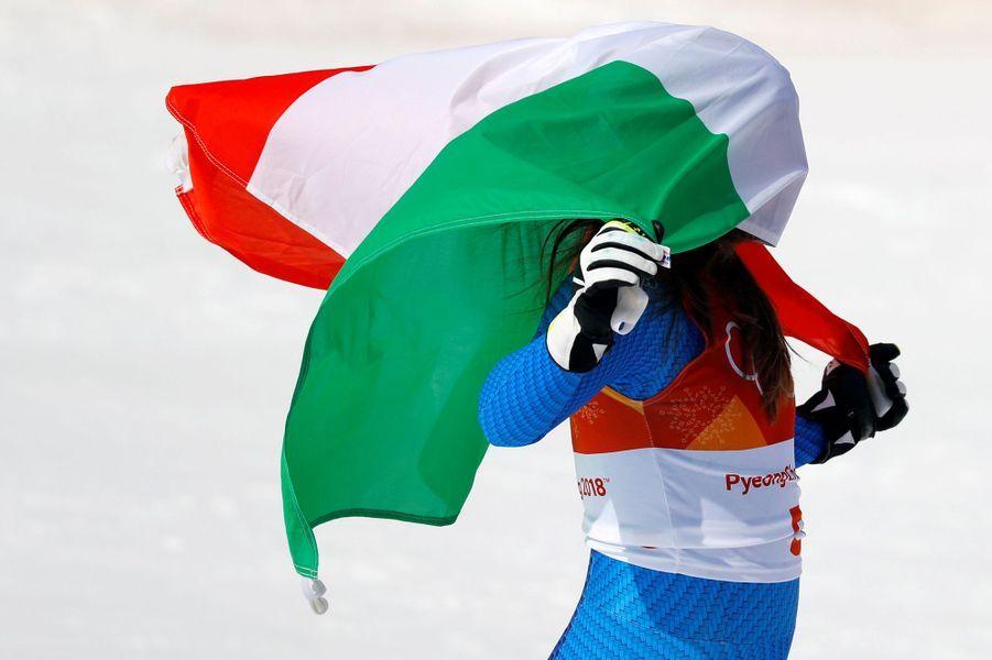 La skieuse italienneSofia Goggia