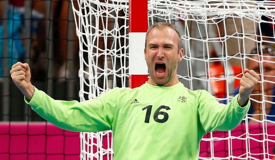 L'équipe de France s'est qualifiée, vendredi soir à Londres, pour la finale du tournoi olympique grâce à sa victoire sur la Croatie (25-22). Les Experts affronteront pour l'or la Suède, quatre ans après le titre de Pékin.