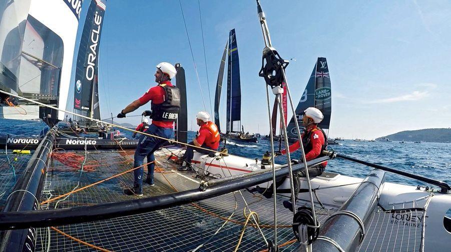 Louis Vuitton America\'s Cup: haut les voiles à Toulon
