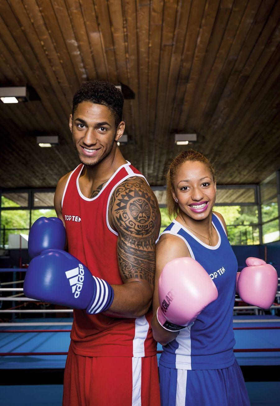 Les boxeurs Tony Yoka et Estelle Mossely, champions du monde amateurs (poids lourds et moins de 60kg), ont prévu de se marier après Rio.