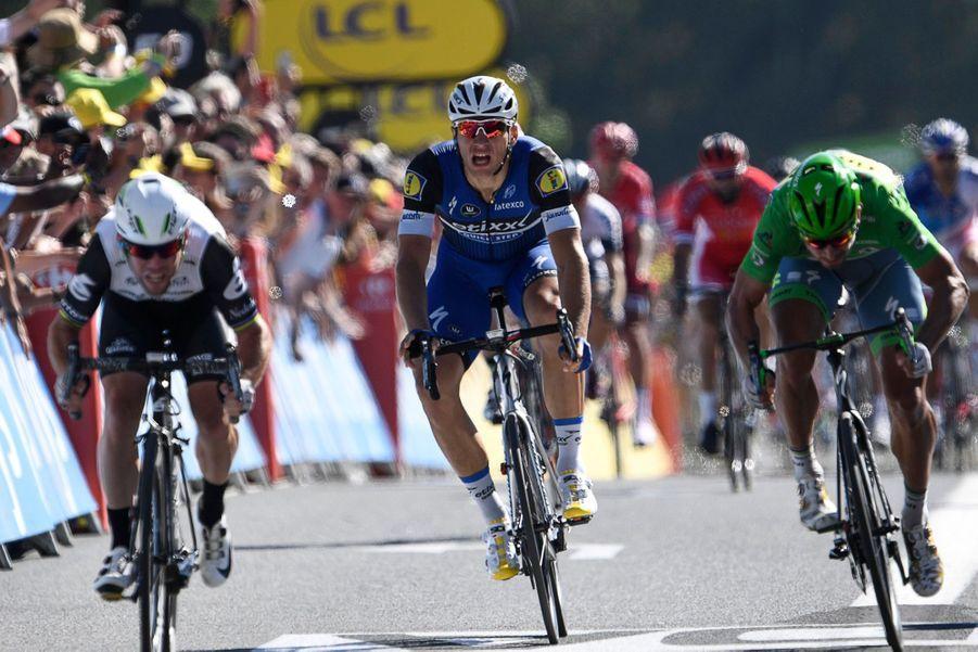 Tour de France - 14e étape: Cavendish en quatrième vitesse