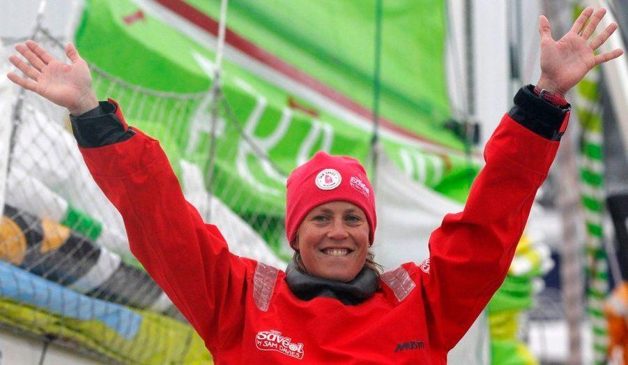 L'Anglaise Samantha Davies est la seule femme à prendre part à l'aventure. Vous retrouverez son portrait lundi sur ParisMatch.com.
