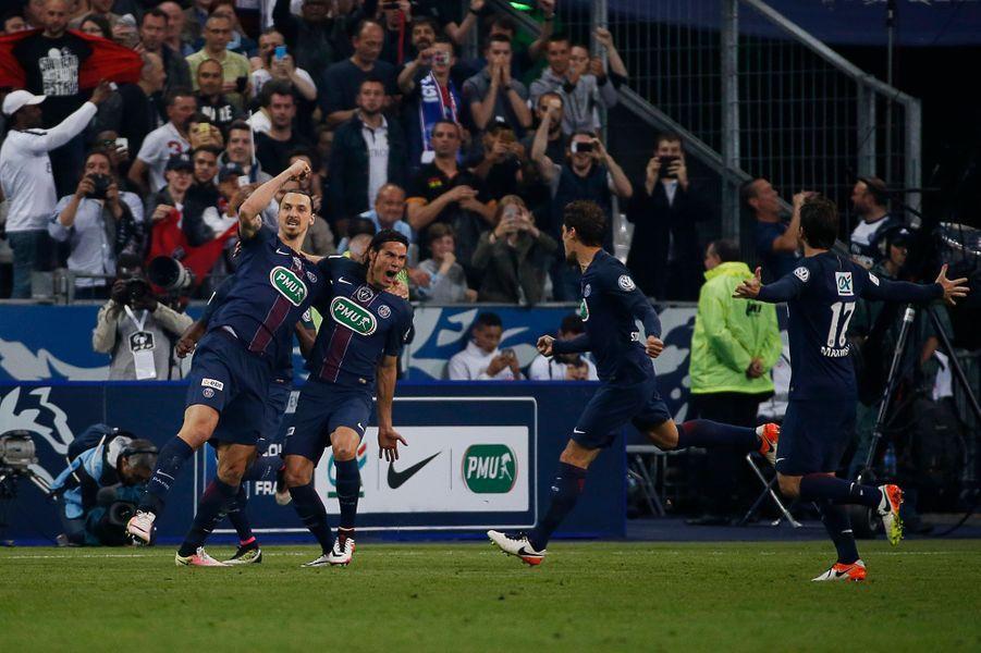 Zlatan, un doublé et l'addition