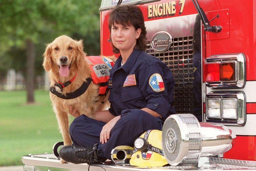 Denise Corliss et Bretagne, photographiées en septembre 2002.