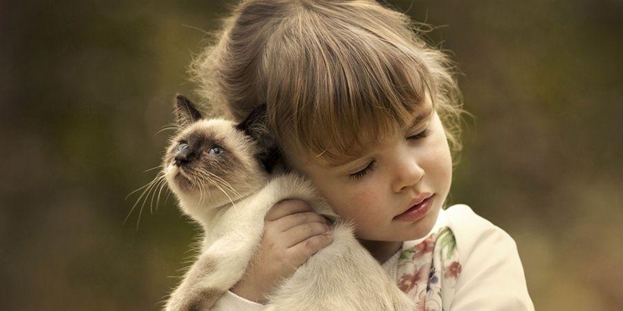 Les enfants et les animaux, un lien fort