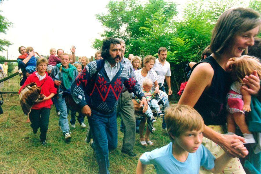 Moerbisch, Autriche, 19 août 1989