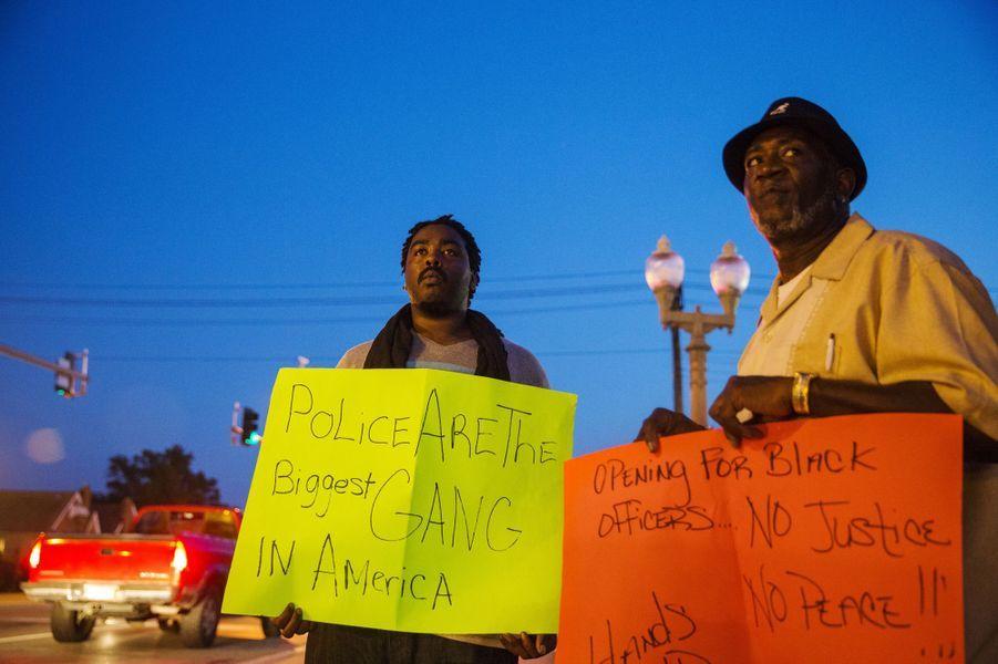 Manifestation à Ferguson
