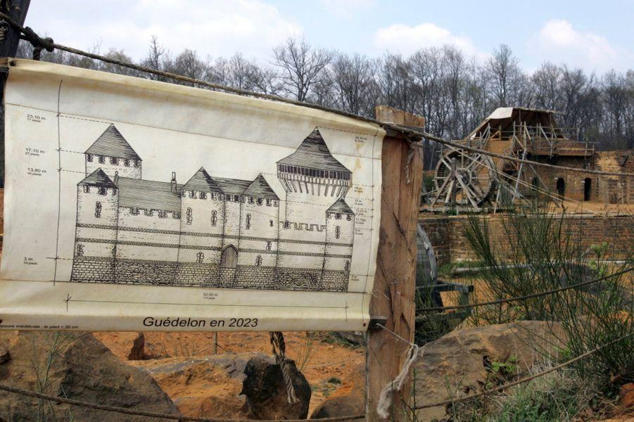 A Guédelon, on construit comme au Moyen-Âge