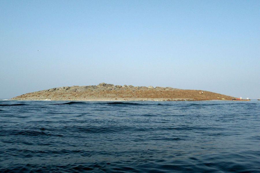 Après le séisme, une île apparaît