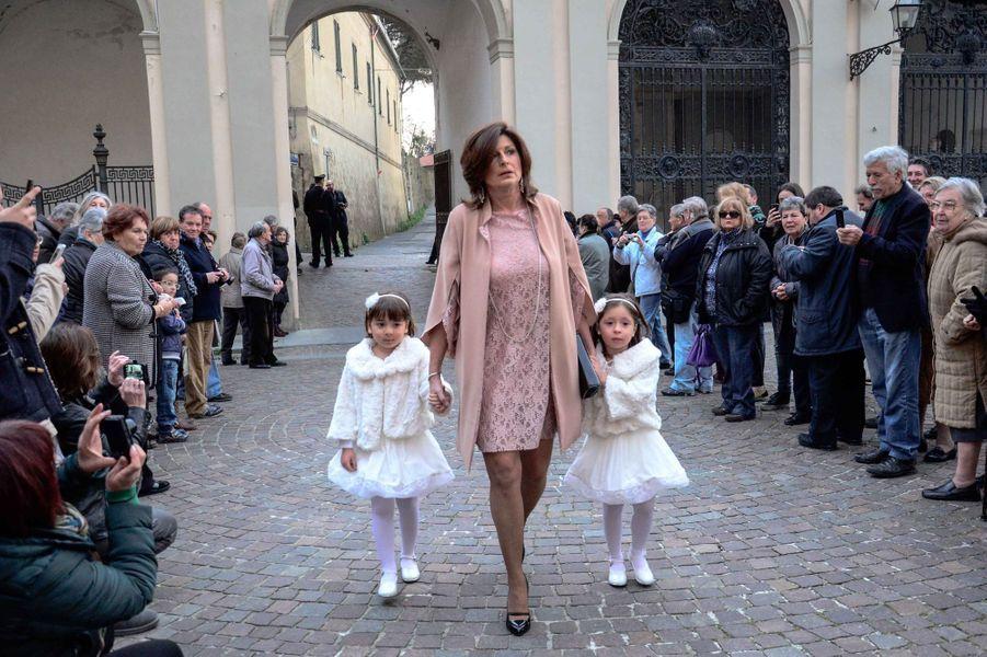 Au mariage d'Andrea Bocelli