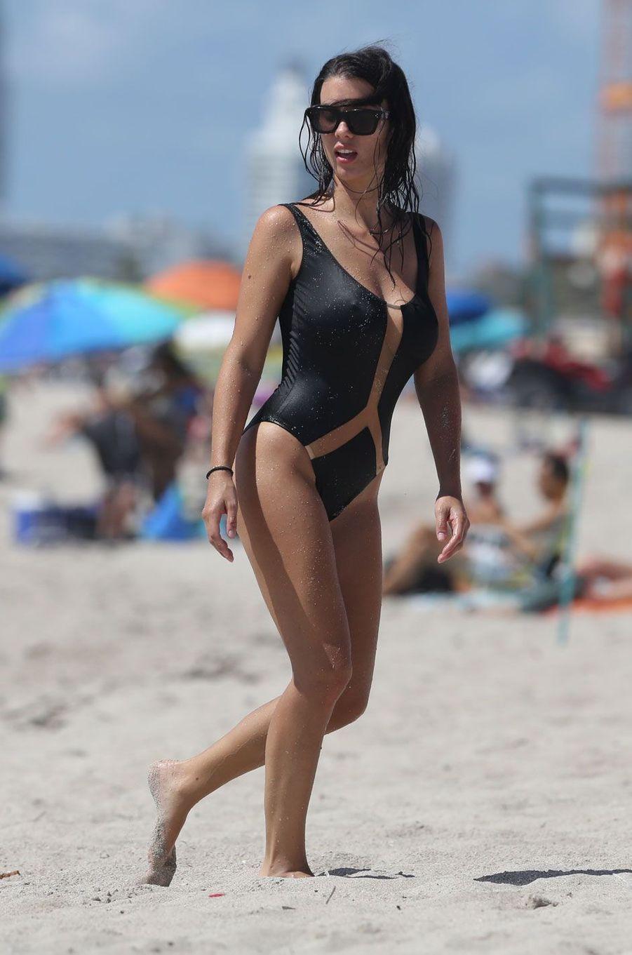 Ludivine Sagna, divine à Miami