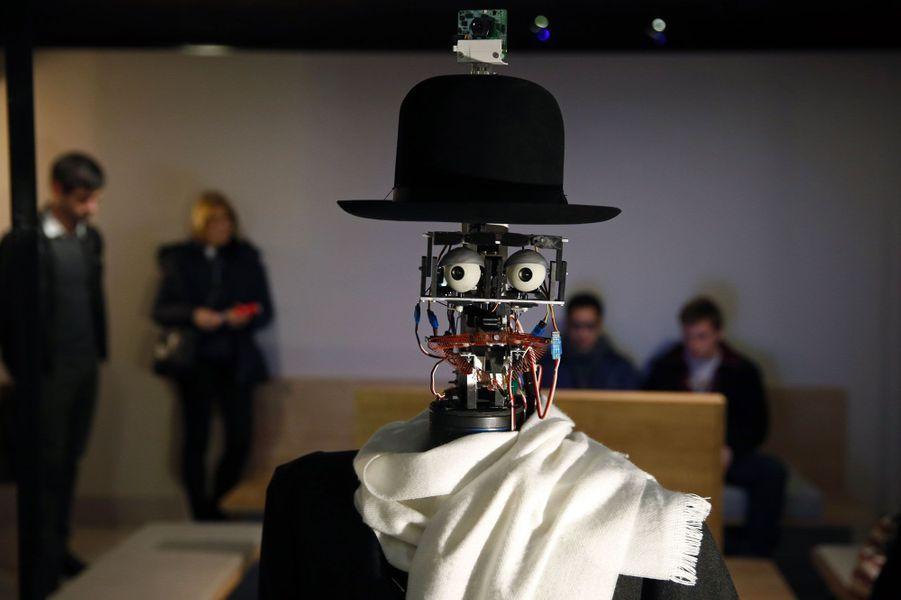 Berenson, le robot au Quai Branly