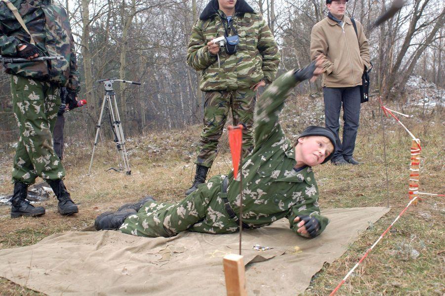 Bienvenue à l'entraînement des mini-soldats
