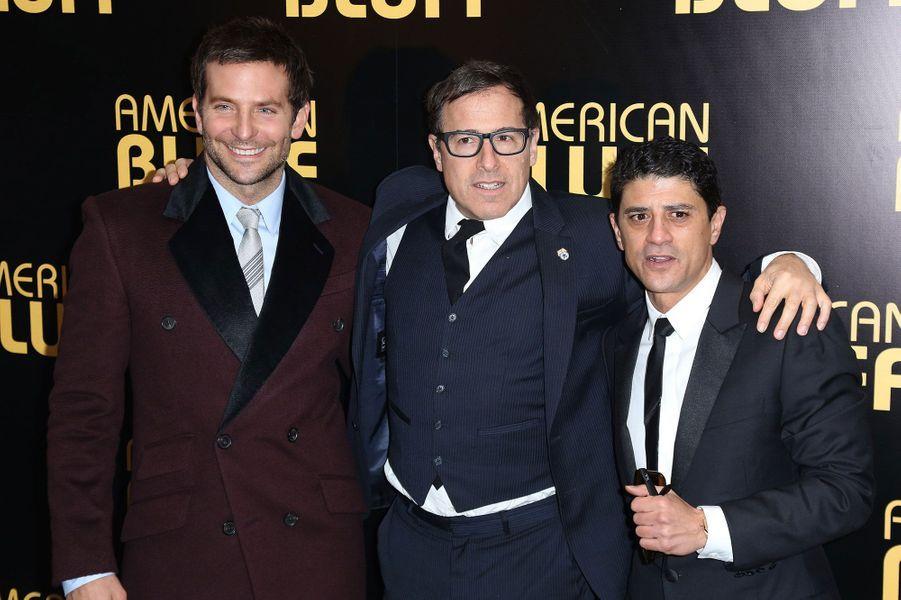 Bradley Cooper, David O.Russell et Said Taghmaoui