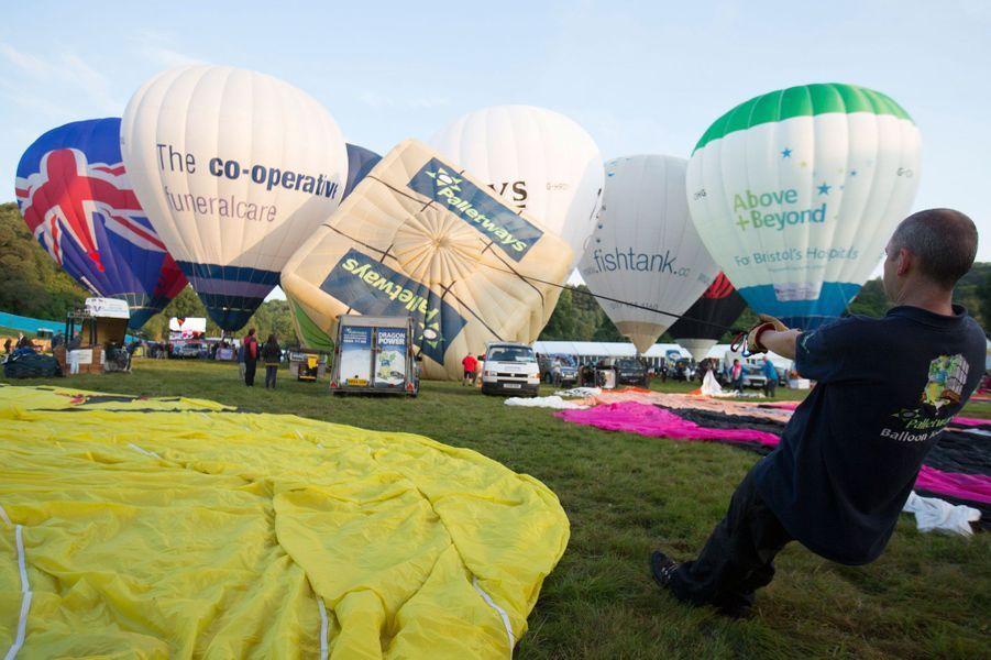 Bristol, la fête des montgolfières