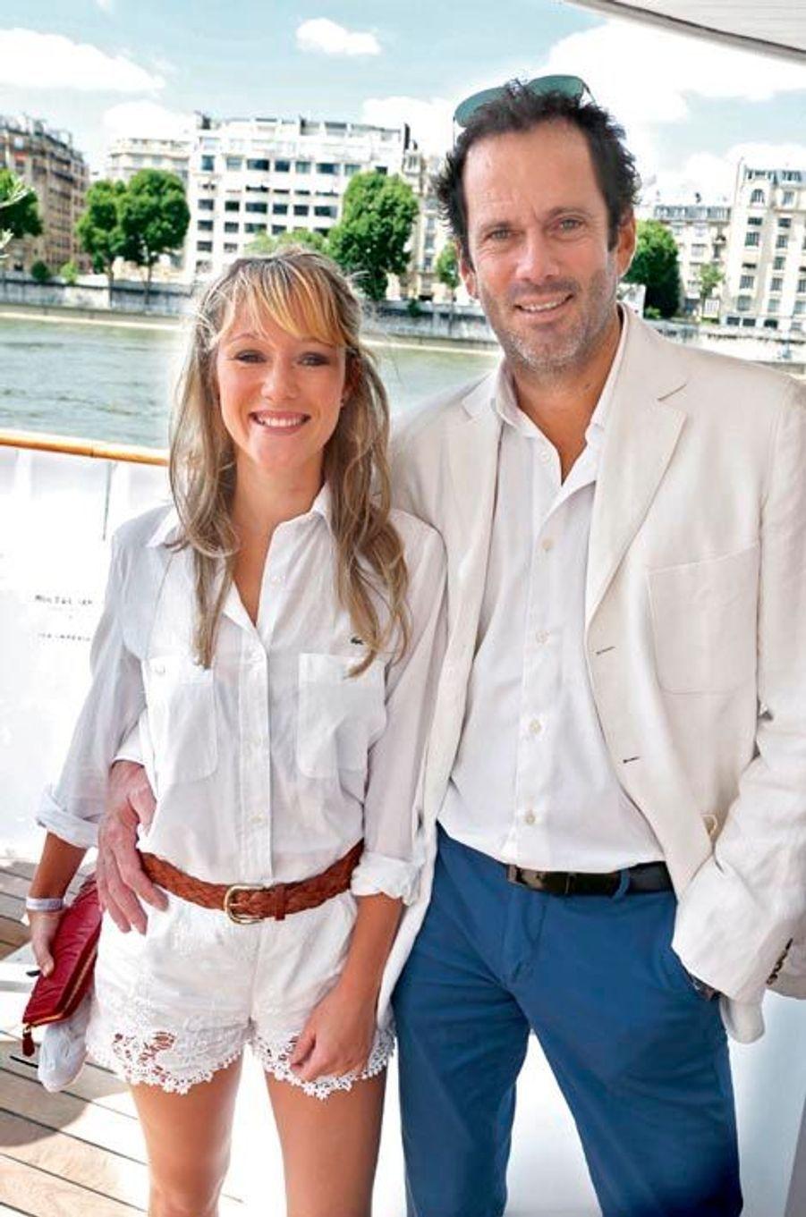 Julia Livage et Christian Vadim