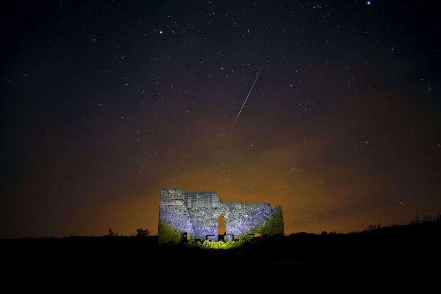 Les ruines de Acinipo, à Ronda en Espagne
