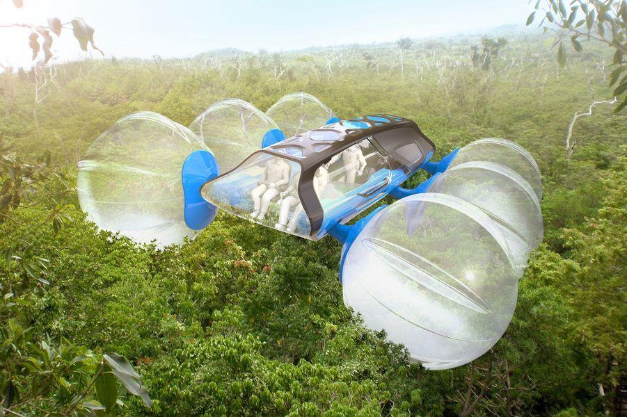 Canopi serait capable de rouler sur les arbres sans les abimer