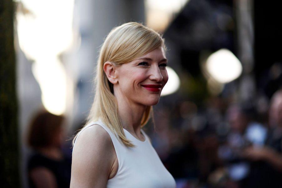 "Cate Blanchett, en noir et blanc pour ""Blue Jasmine"""