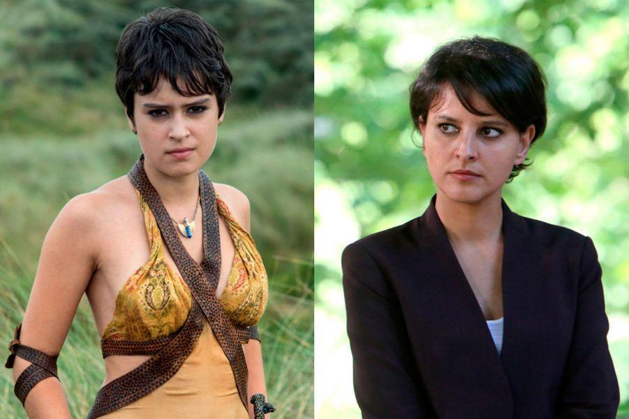"Najat Vallaud-Belkacem à la place de Rosabell Laurenti Sellers dans ""Game of Thrones"""