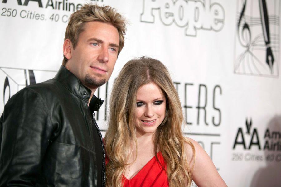 Avril Lavigne et Chad Kroger, Mandelieu, 1er juillet 2013
