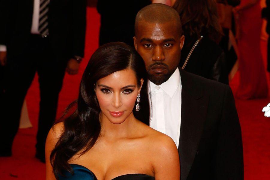 Kim Kardashian et Kanye West, Château de Versailles, 23 mai 2014