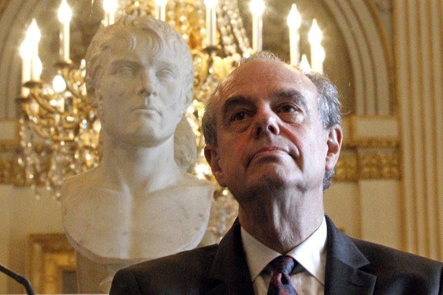 L'ancien ministre de la Culture Frédéric Mitterrand