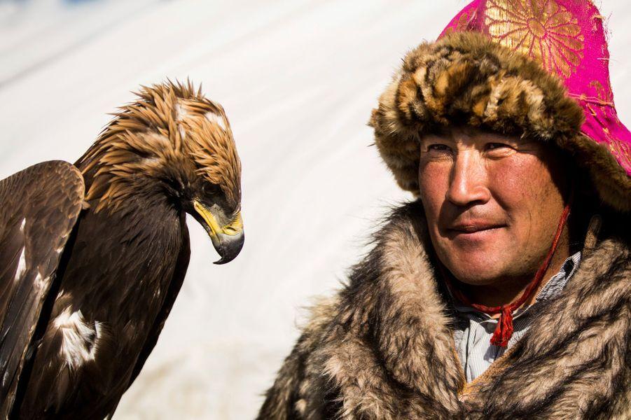Le peuple des aigles, chasseurs traditionnels de Mongolie